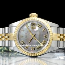 Rolex Lady-Datejust pre-owned 26mm Mother of pearl Date Fold clasp
