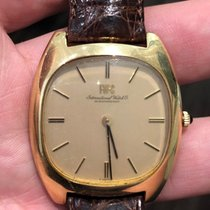 IWC ICONIC HEAVY SOLID 18K GOLD REF.2570—ORIGINAL DIAL. Cal 403. pre-owned