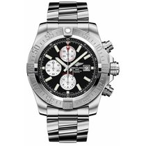 Breitling Super Avenger II new Automatic Chronograph Watch with original box and original papers 256S/A20D.2