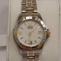 Wenger Swiss Military Elite Two-tone Stainless Steel Date...