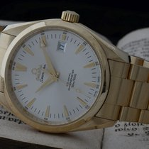 Omega Seamaster Aqua Terra Yellow gold 39.2mm Silver