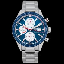 TAG Heuer Carrera Calibre 16 Steel 41mm Blue United States of America, California, San Mateo