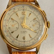 DuBois 1785 Chronograph 46mm Manual winding 1950 pre-owned Champagne