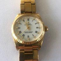 Rolex Oyster Perpetual (Submodel) gebraucht Gelbgold