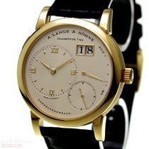 A. Lange & Söhne Lange 1 Yellow gold 38.5mm Champagne No numerals