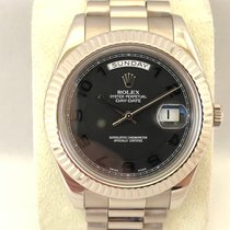 Rolex Day-Date II 218239 White Gold / 41mm ( LC 100 )