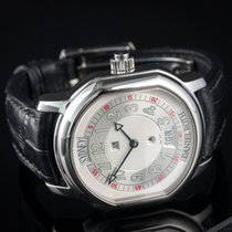 Daniel Roth Steel Automatic Silver Arabic numerals 38mm pre-owned