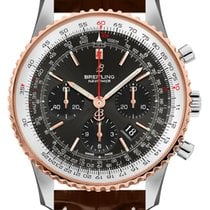 Breitling Steel Automatic Grey 43mm new Navitimer 1 B01 Chronograph 43