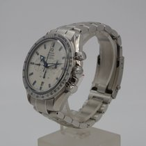 Omega Speedmaster Broad Arrow Steel White