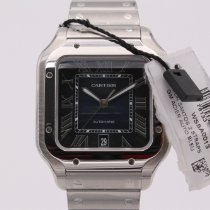 Cartier new Automatic 39.8mm Steel Sapphire Glass