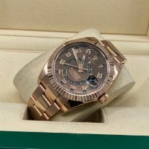 Rolex Rose gold 42mm Automatic 326935 new