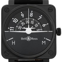Bell & Ross Steel 46mm Automatic BR 01-92 pre-owned