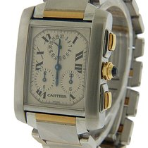 Cartier Tank Française Steel 32mm White Roman numerals United States of America, Florida, Miami