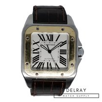 Cartier Santos 100 Gold/Steel 38mm United States of America, Florida, Hallandale Beach