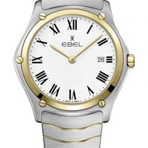 Ebel Sport Gold/Steel 40mm White Roman numerals