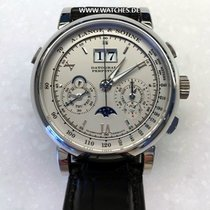 A. Lange & Söhne 410.025FE Platinum 2014 Datograph 41mm pre-owned
