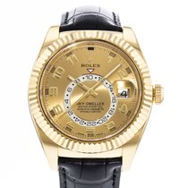 Rolex Sky-Dweller Yellow gold 42mm Champagne United States of America, Georgia, Atlanta