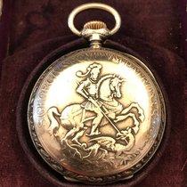 Patek Philippe Zegarek używany 1883 Srebro 47mm Arabskie Manualny Zegarek z oryginalnymi dokumentami