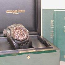 Audemars Piguet Royal Oak Offshore Chronograph Staal 42mm Zwart Arabisch Nederland, Velp
