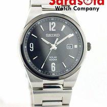 Seiko Solar Steel 42mm Black United States of America, Florida, Sarasota
