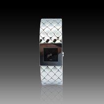 Chanel Mademoiselle Acier 19mm Noir Sans chiffres