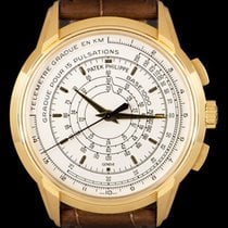 Patek Philippe Chronograph Yellow gold 40mm Silver