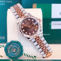Rolex new Automatic 31mm Gold/Steel Sapphire crystal