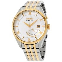 Seiko Kinetic Steel 42mm White Roman numerals United States of America, New Jersey, Somerset