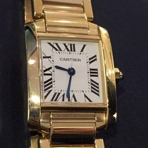 Cartier Tank Francaise Lady Yellow Gold 18 KT