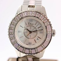 Dior Christal Steel with Diamonds Pink