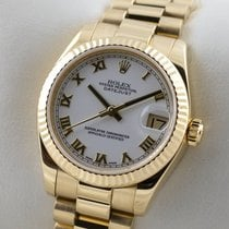 Rolex pre-owned Automatic 31mm White Sapphire Glass