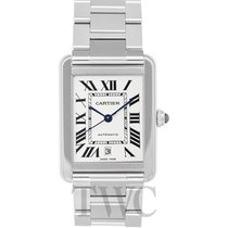 Cartier Tank Solo Stahl 31.00mm Silber