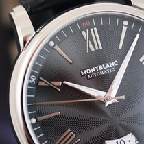 Montblanc Steel 43mm Automatic 115122 new