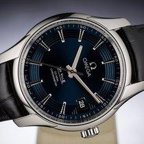 Omega DE VILLE HOUR VISION BLUE CO-AXIAL CHRONOMETER DATE