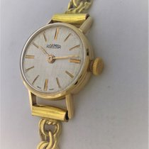 Roamer Yellow gold Manual winding White 17mm pre-owned