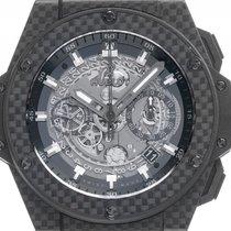 Hublot Unico King Power Carbon Automatik Chronograph Armband...