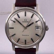 Omega vintage 1970 calatrava date GENEVE ref 136.070 cal 613
