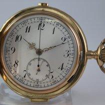 Viertelstunden Repetition Savonette 14k 111gr Chronograph...