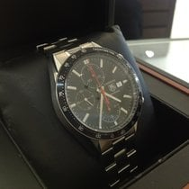 TAG Heuer Carrera Calibre 16 Steel 41mm Black No numerals United Kingdom, Gateshead