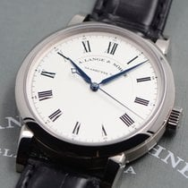 A. Lange & Söhne White gold Manual winding White Roman numerals 40.5mm pre-owned Richard Lange