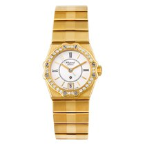 Chopard St. Moritz Yellow gold 23mm White Roman numerals United States of America, Florida, Surfside