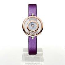 Chopard Damenuhr Happy Diamonds 25.8mm Quarz neu Uhr mit Original-Box und Original-Papieren