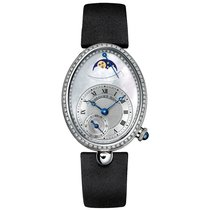 Breguet Reine de Naples White gold 28.45mm Mother of pearl Roman numerals United States of America, New York, New York