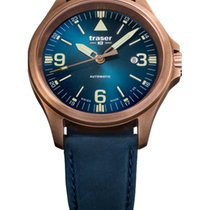 Traser Bronze Automatic Blue No numerals 42mm new