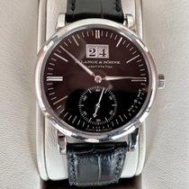 A. Lange & Söhne White gold Automatic Black 37mm pre-owned Langematik