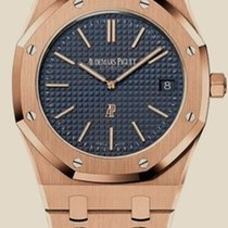Audemars Piguet Royal Oak Jumbo Pозовое золото 39mm Синий Россия, Moscow