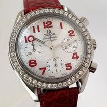 Omega Dameshorloge Speedmaster Ladies Chronograph Automatisch tweedehands Horloge met originele doos en originele papieren 2006