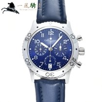 Breguet Platinum Automatic Blue 39.5mm pre-owned Type XX - XXI - XXII