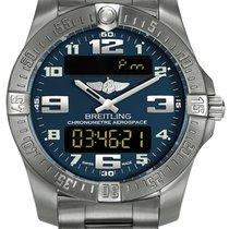Breitling Aerospace EVO Titan 43mm Blau Arabisch