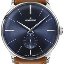Junghans Meister Hand-winding Steel 37.7mm Blue